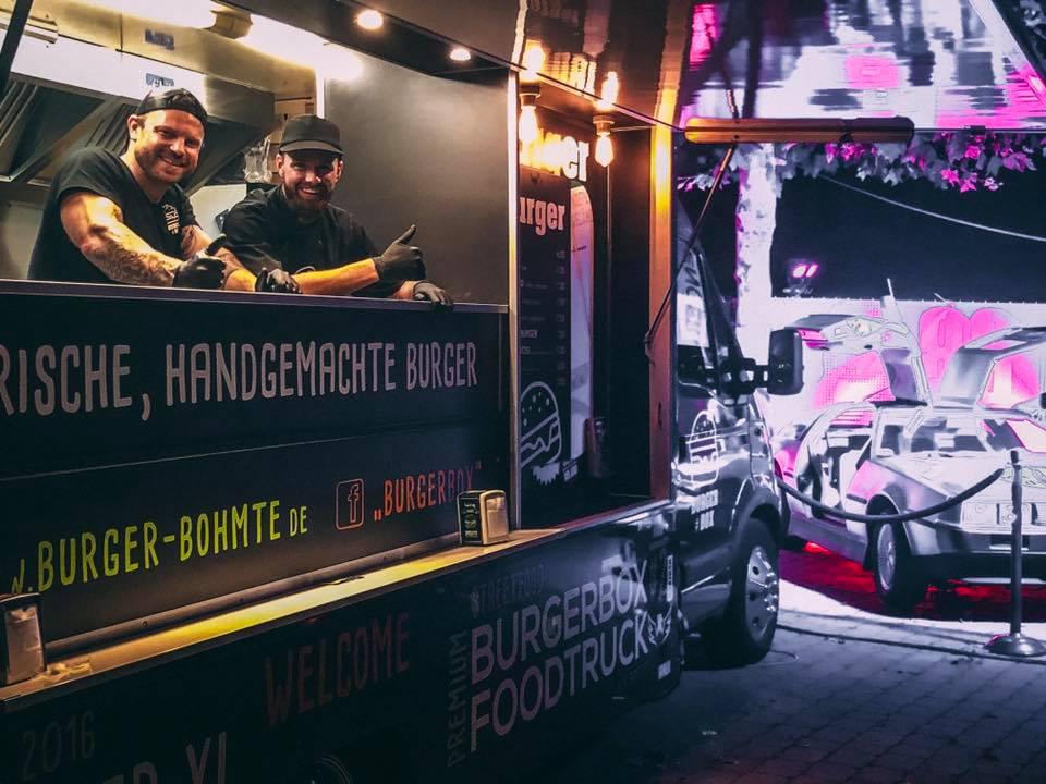 BurgerBox Bohmte - Foodtrucks und Burger für Osnabrück