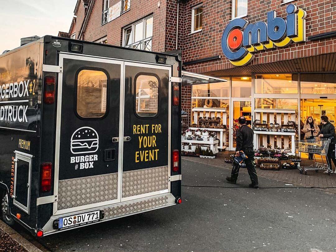 BurgerBox on Tour für Dich!
